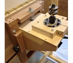 Woodworking router lift Plan