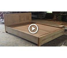 Woodworking skills are very smart how to building a queen size bed extremely simple and beautiful Plan
