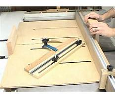 Woodworking sled plans.aspx Plan