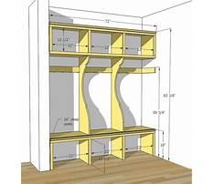 Woodworking storage locker Plan