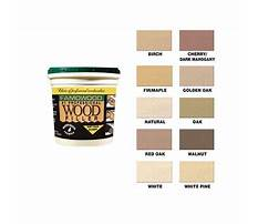 Woodworking wood filler Plan