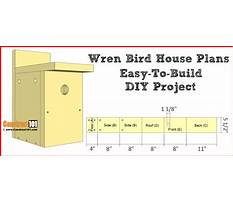 Wren bird house plans free download Plan