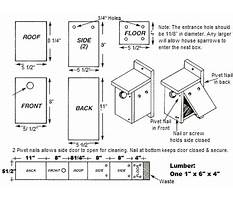 Wren birdhouse plans and patterns Plan