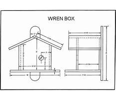 Wren birdhouse plans Plan