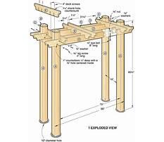 Yard arbor designs Plan