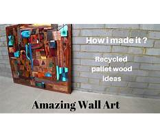 Youtube recycled pallet wood walls Plan