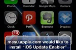 iPhone 5 Software Update